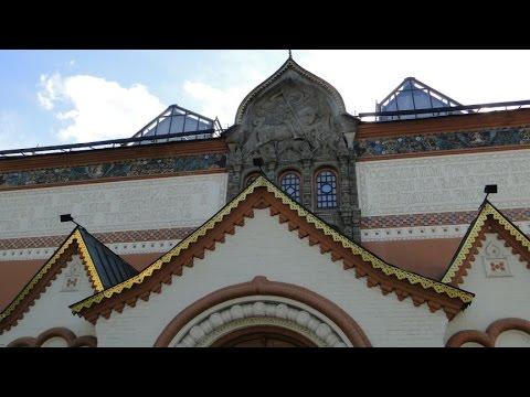 Galeria Tretiakowska w Moskwie 25 VII 2013 r
