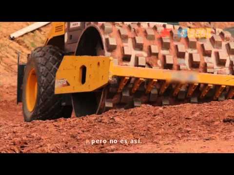 Proyecto Serie 100% Seguro | Seguridad en Trabajo con Rodillo Compactador (Subtítulos en Español)