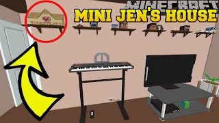 Minecraft: CAN YOU SPOT JEN'S MINI HOUSE?!? - Crack The Console - Custom Map [1]