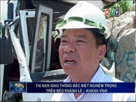 KTV: Tin Tai nạn giao thông đặc biệt nghiêm trọng trên đèo Khánh Lê - Khánh Vĩnh (07/06/2013)
