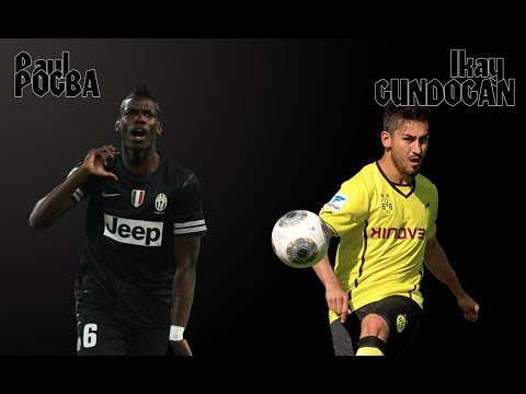 Paul Pogba vs Ilkay Gündogan ♦ HD