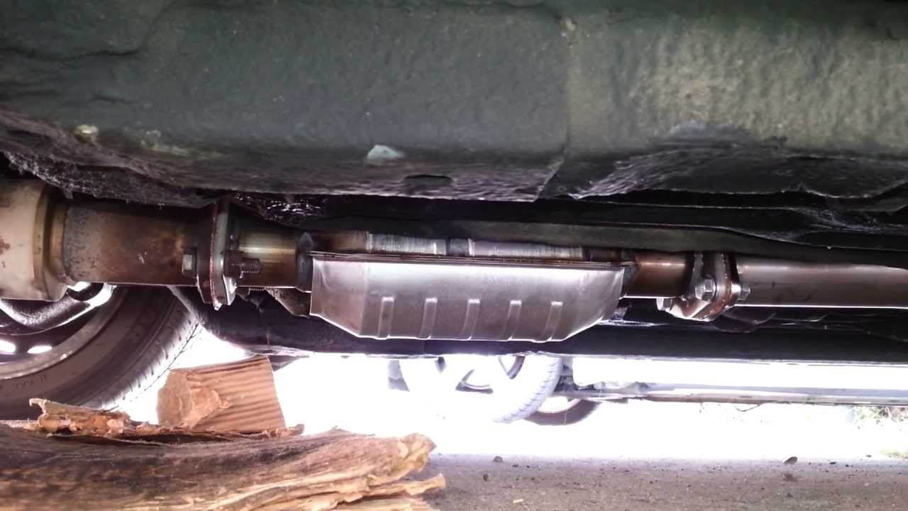 DIY How to Install a    Honda    Catalytic Converter   Exhaust System  pt 2   YouTube