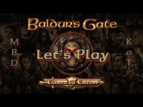 Baldur's Gate 2 Enhanced Edition - Let's Play Part 1