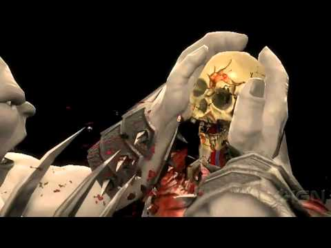 MK9 Goro REVEALED! Mortal Kombat 2011 720p HD! Goro's X-RAY!!