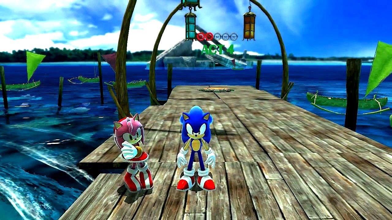 Sonic Generations Adabat Adventure Pack Hub World Youtube