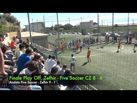 Finale rit. Play off Zefhir - Five Soccer 8-6 (09/05/15)