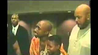 Last Day Footage Of Tupac Shakur, Backstage At Mike Tyson