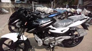 BAJAJ PULSAR 180 2014 MODEL WALK AROUND (NEW PAINT SCHEME