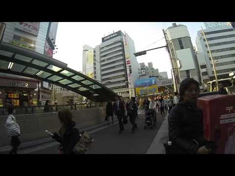 Shinsaibashi in Slow Motion