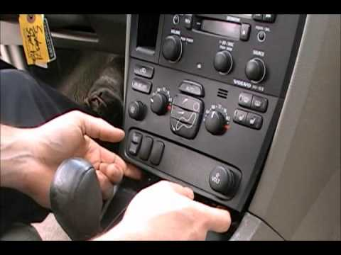 How To Remove Amp Install Your Volvo V70 S60 S80 Heater A C
