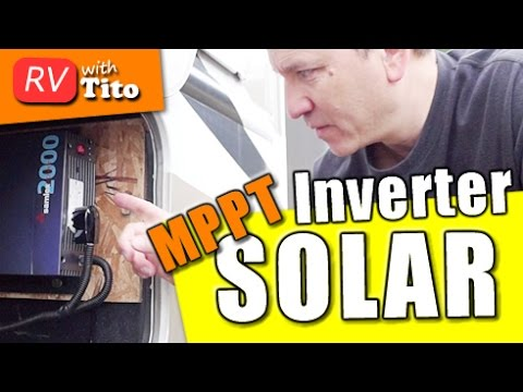 My Solar Powered RV - Inverter Install