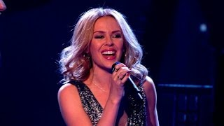 Kylie And Her Team Perform 'Into The Blue' The Voice UK