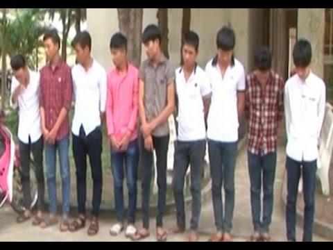 10 côn đồ kéo đến trường truy sát 2 học sinh cấp 3