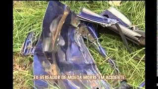 Ex-vereador de Moeda morre em acidente de carro na BR-040