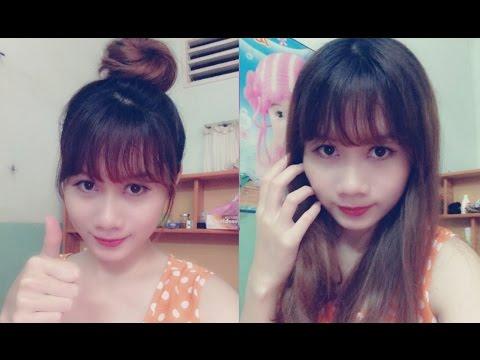 Hairstyles - Cách Tự Cắt Tóc Mái Thưa Hàn Quốc Cực Dễ