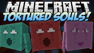 Minecraft TORTURED SOULS! (Plus Awesome Throwing Weapons