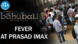 Bahubali Fever at Theaters