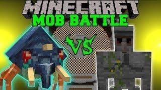 WTF VS. STONE GOLEM Minecraft Mob Battles OreSpawn And