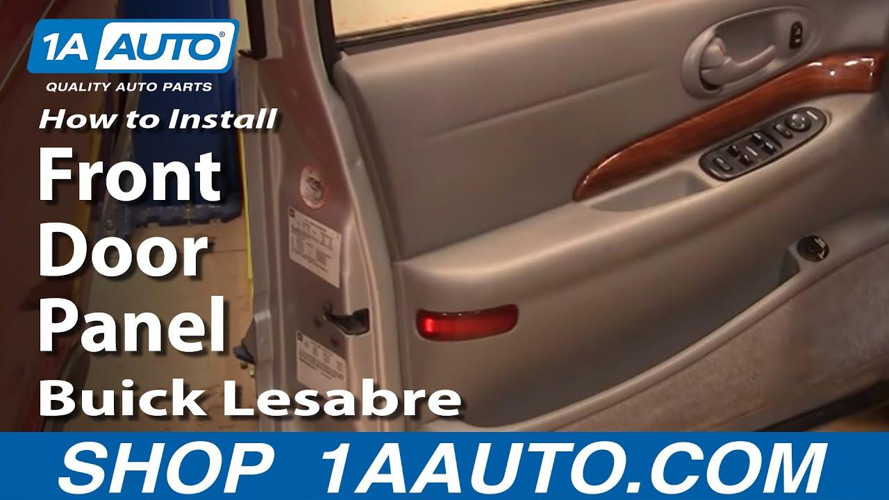 Remove Front Door Panel Buick Lesabre 00-05 1AAuto.com - YouTube