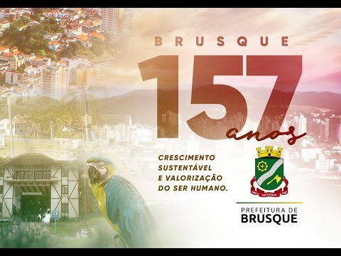 Brusque 157 anos