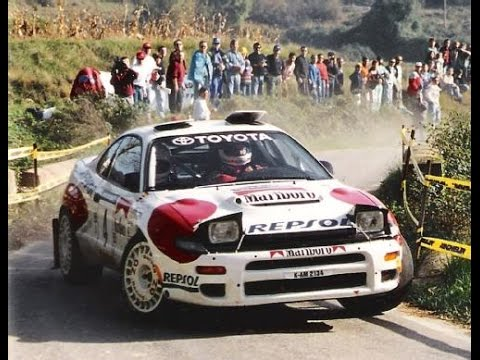 Carlos Sainz & Toyota Celica ST-185 `92 - With Pure Engine