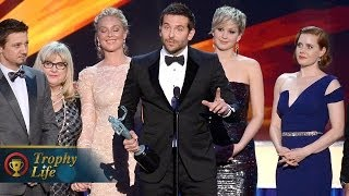SAG Awards 2014 Movie Winners American Hustle, Matthew