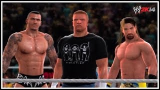 WWE 2K14 The NEW Evolution?! (Triple H, Randy Orton