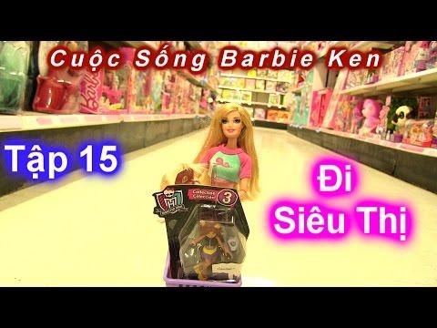 Phim Cuộc Sống Barbie Ken [ Mùa 2] Tập 15 Cả Nhà Barbie Đi Siêu Thị Đồ Chơi Kmart/ Barbie's Story