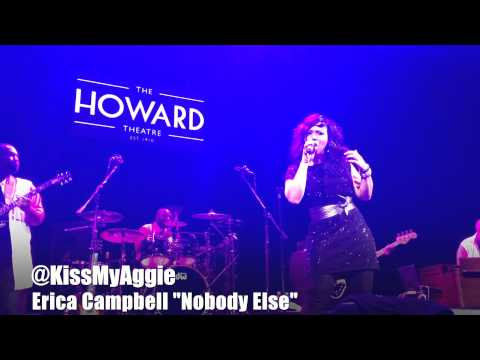 Erica Campbell at The Howard Theatre