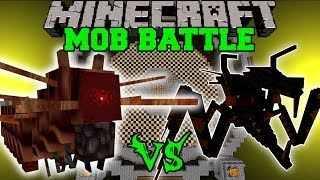 JUMPY BUG VS CRAZY EVIL BUGS – Minecraft Mob Battles – OreSpawn Mods