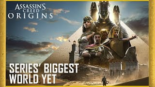 Assassin's Creed Origins - The Series' Biggest World Yet