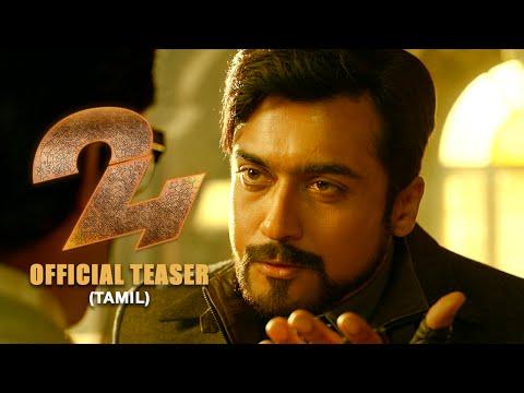 24 Official Teaser Tamil  Suriya, Samantha Ruth Prabhu, Nithya Menen AR.Rahman  Vikram K Kumar