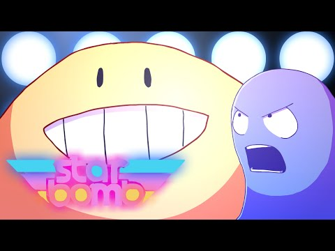 Starbomb - Inky's Lament - Pacman Animated Music Video