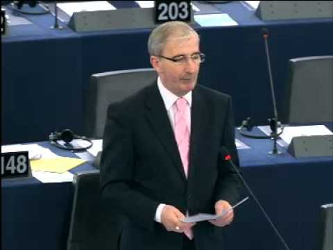 Gay Mitchell speaks on EU-China negotiations for a bilateral investment agreement