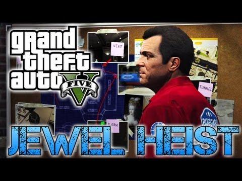 Grand Theft Auto V | JEWELLERY STORE HEIST | PS3 HD Gameplay