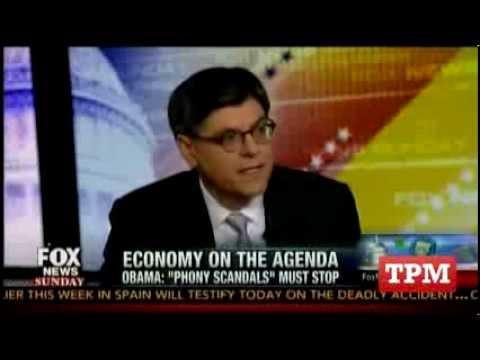 Jack Lew Responds To IRS 'Phony Scandal' Question
