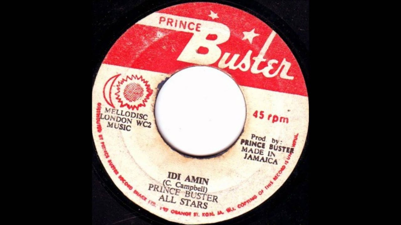 Prince Buster All Stars Its Burkes Law Jamaica Ska Explosion