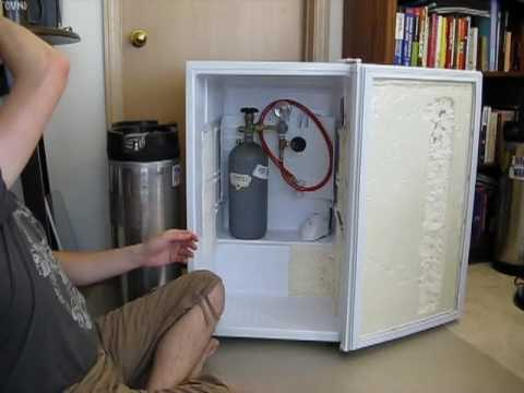 Converting A Magic Chef 4 4 Cubic Feet Mini Fridge Into A