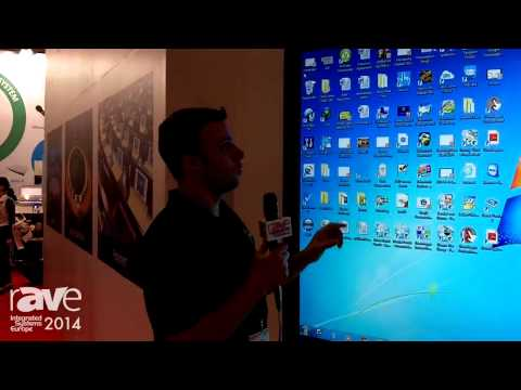 Genee Multitouch LED Screen Demo at ISE 2014