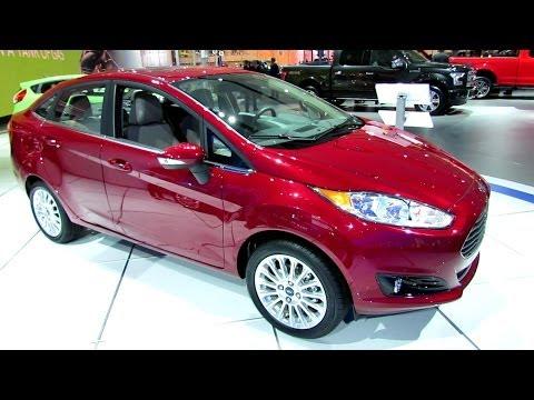 فيديو سيارة فورد فيستا سيدان 2014 في معرض سيارات ديترويت