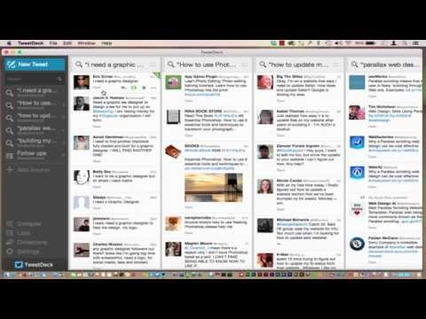 HOW TO USE TWEETDECK AS A LISTENING TOOL