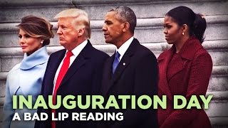 Bad Lip Reading of Donald Trump's Inauguration
