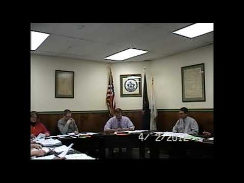 Champlain Village Board Meeting 4-9-12