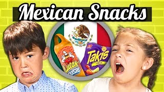 KIDS EAT MEXICAN SNACKS! | Kids Vs. Food