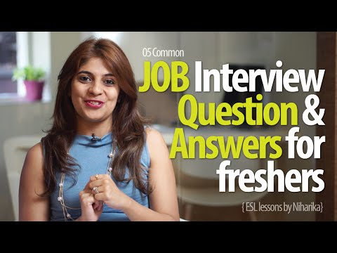 Job Interview Question & Answers For Freshers - Free Job