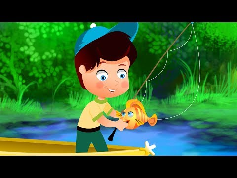 12345 once i caught a fish alive baby tv baby tv 12345 for Baby fish song