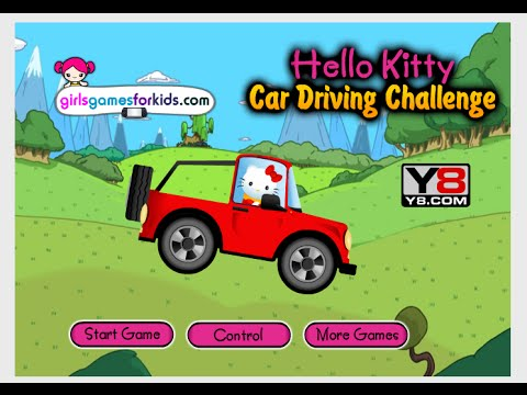Hello Kitty Games Online - Hello Kitty Racing Challenge Game