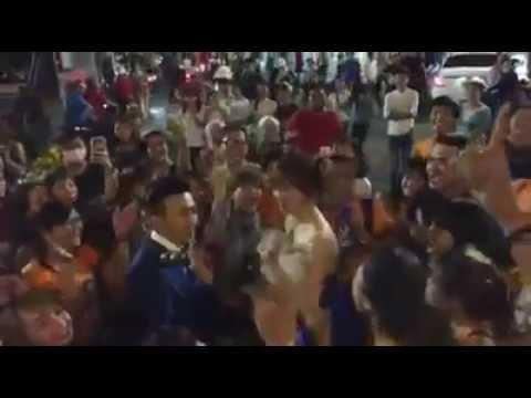 Trấn Thành – Hari Won họp fan tại Hồ Chí Minh.