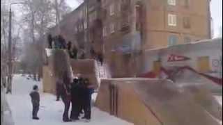 Orosz csúszda gyerekeknek