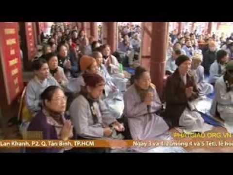 Chùa Dương Đình : Lễ Tất Niên Tổng Kết Phật Sự Đạo Tràng Ngũ Bách Hành Thiện 2013